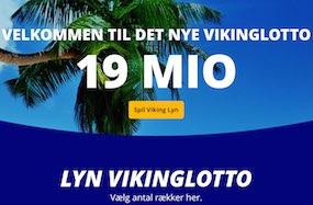 Onsdagslotto skifter navn til Vikinglotto